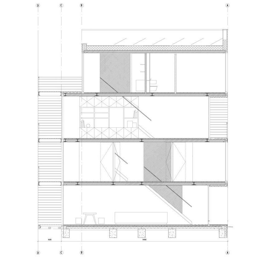 Reformed Sf Loft By Wardell Sagan Projekt: Kea Boumanstraat By MEESVISSER - CAANdesign