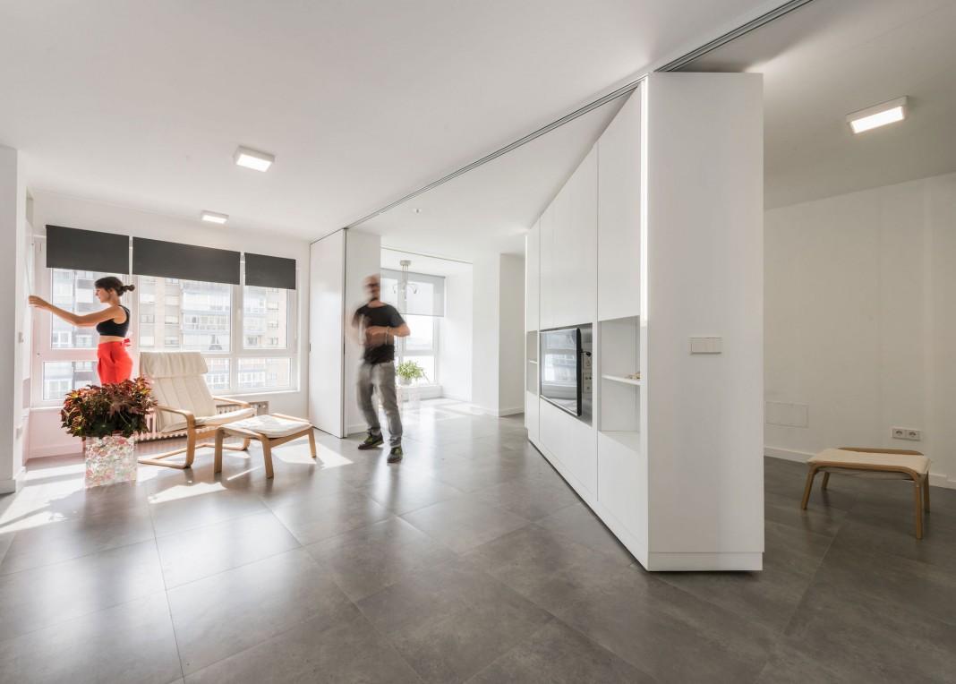 MJE Apartment by PKMN Architectures