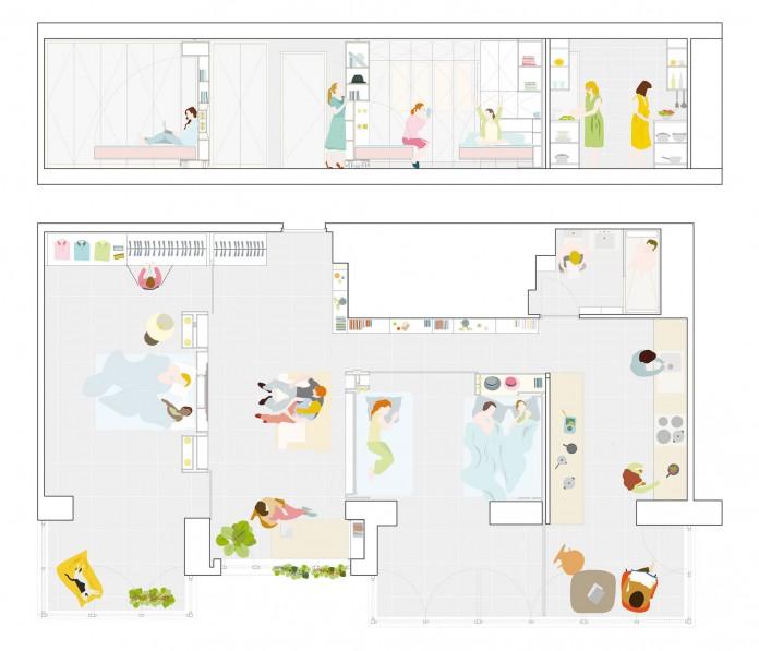 MJE Apartment by PKMN Architectures-22