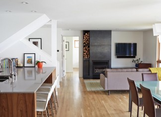 Modern on Meadow Residence by Hufft Projects