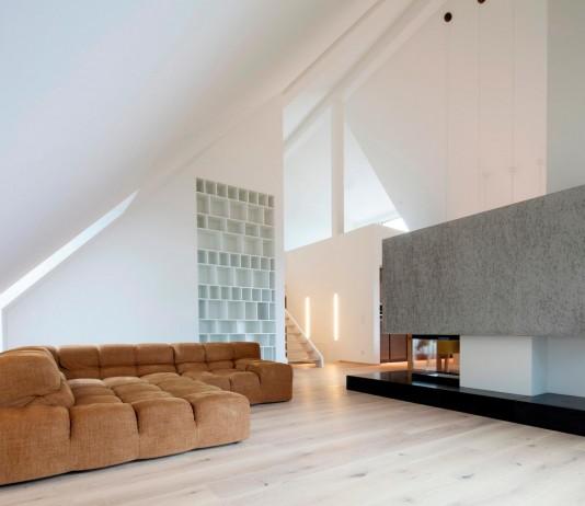 Penthouse B in Linz by Destilat