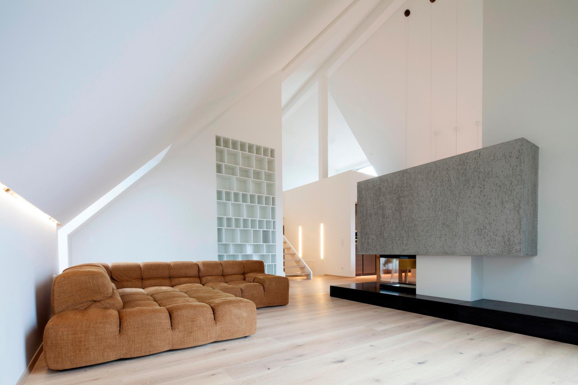 penthouse b in linz by destilat caandesign architecture and home design blog. Black Bedroom Furniture Sets. Home Design Ideas