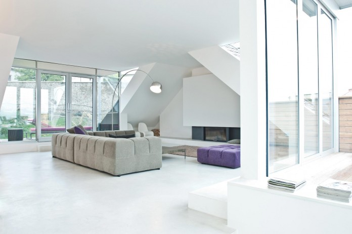 Penthouse S in Linz by Destilat