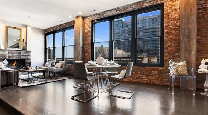 Row Sophisticated Penthouse in Chicago by CBC