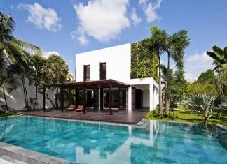 Thao Dien Villa by MM ++ Architects