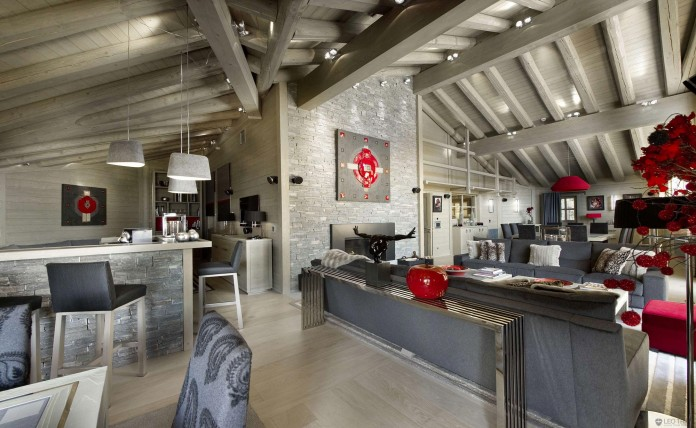 5380 square feet K2 Chalet in Courchevel, available for rent
