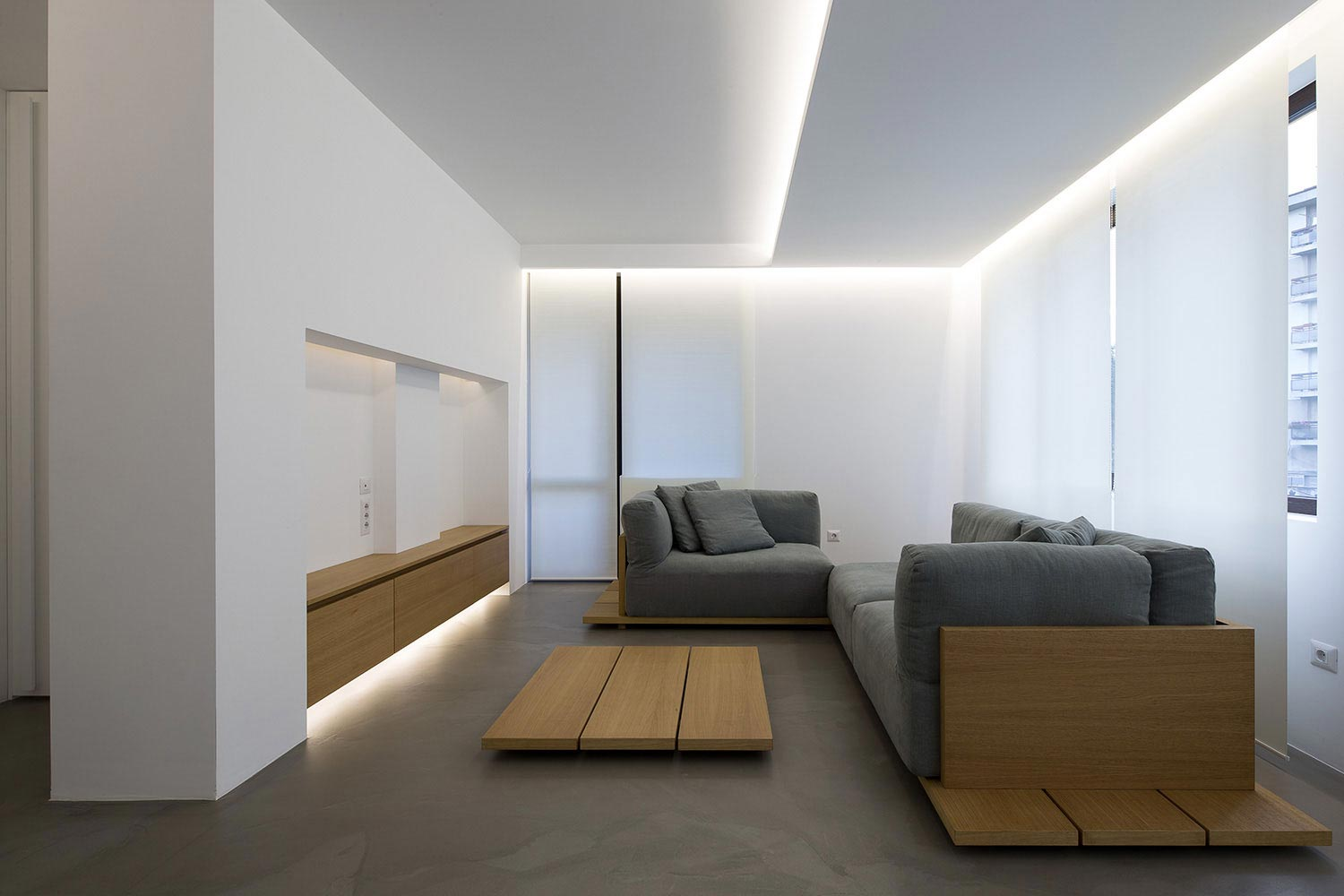 Clean environment of apartment p in sofia bulgaria by for Clean interior design