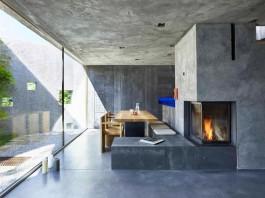 Concrete House in Caviano near Lake Maggiore by Wespi de Meuron Romeo architects