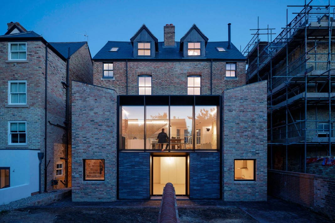 Conversion Of Two Semi Detached Residences In Central