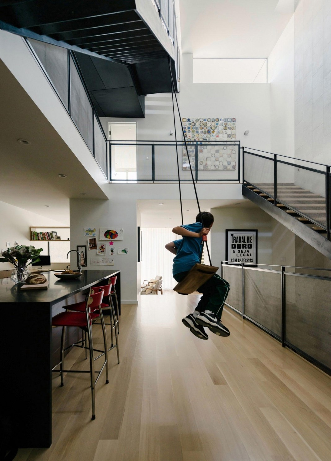 Fitty Wun Playful Contemproary Residence in San Francisco by Feldman Architecture
