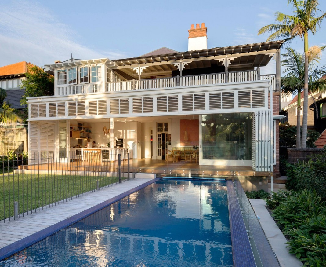 Heritage Treasure Chest Residence by Luigi Rosselli Architects