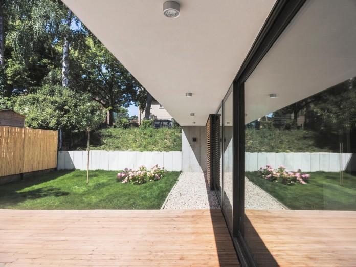 house m in wilmersdorf berlin by peter ruge architekten. Black Bedroom Furniture Sets. Home Design Ideas