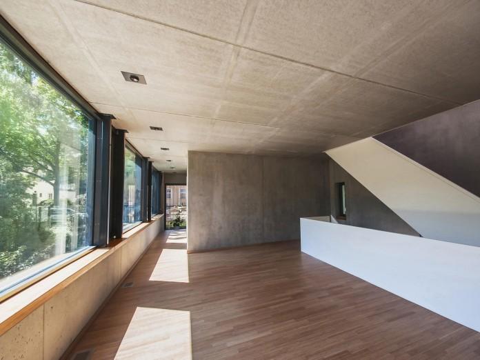 House m in wilmersdorf berlin by peter ruge architekten - Peter ruge architekten ...