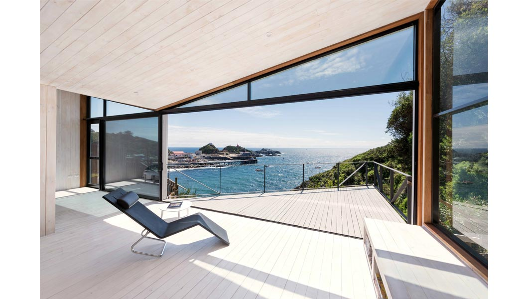 Ia House With Panoramic Views Of The Pacific Ocean By