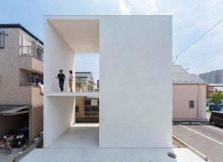 Little Open-Air House with a big Terrace in Tokyo by Takuro Yamamoto