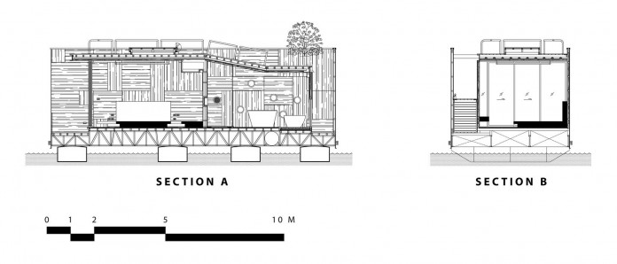 Lush-and-mountainous-landscape-of-X-Float-residences-on-River-Kwai-Bridge-by-Agaligo-Studio-20