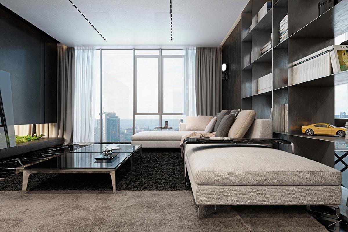Luxury Kiev Apartment Visualized By Iryna Dzhemesiuk