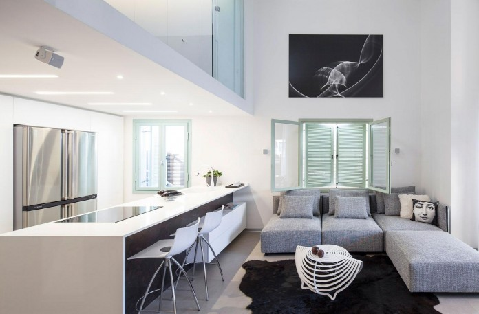 Modern Loft In Tel Aviv by BLV Design Architecture