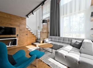 Modern Scandinavian loft interior of Loft Town by InArch