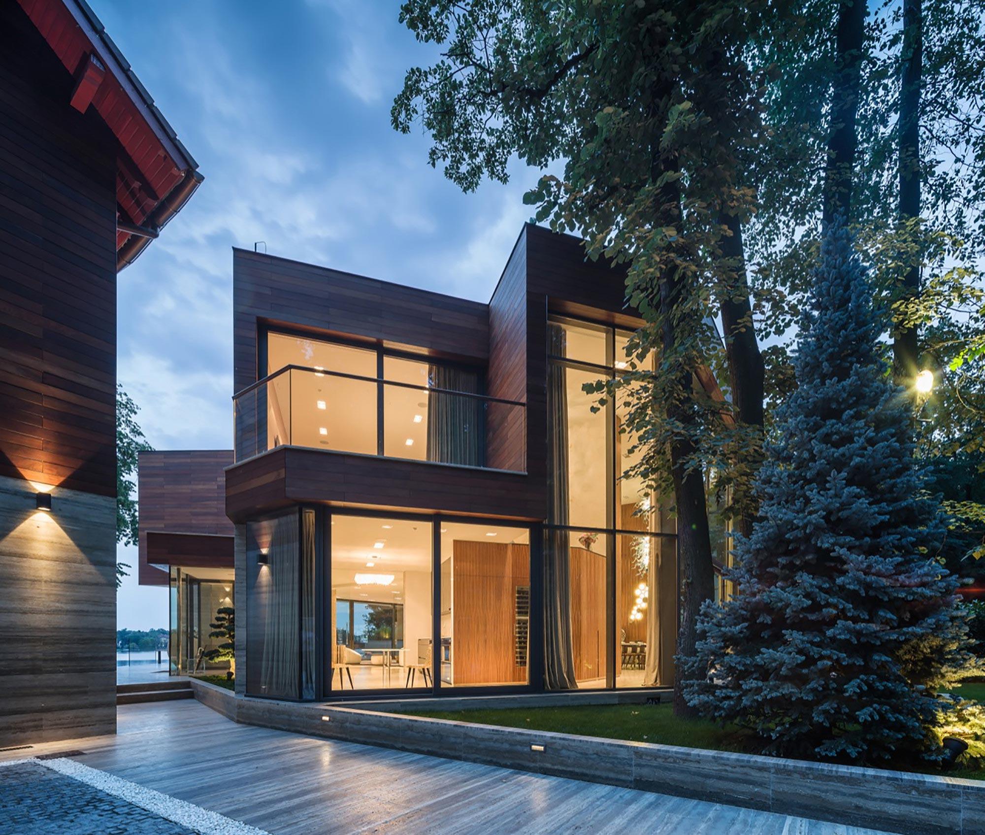 Modern Lake House Design: On The Shores Of Lake Snagov By DOOI Studio