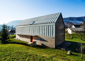 Simple Small Single-family home by scapelab