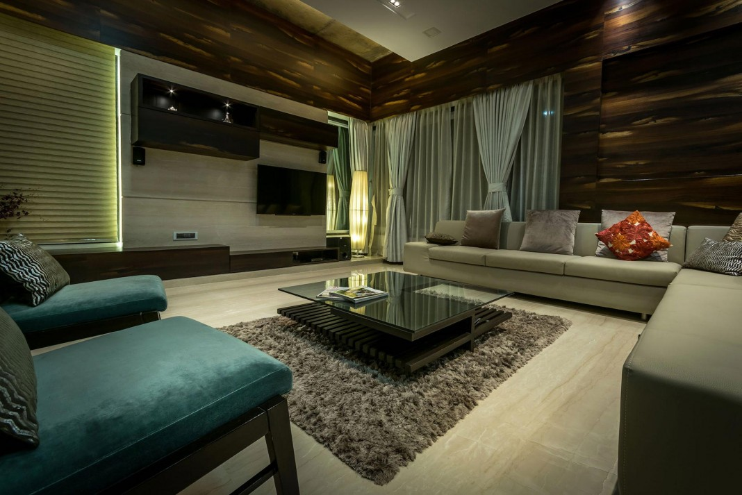 Single Family Bungalow Blends Modern Western Aesthetics With Indian Taste  And Sensibilities By Skyward Inc. Home Design