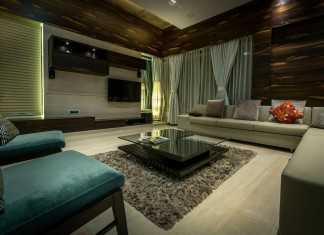 Single Family Bungalow blends modern Western aesthetics with Indian taste and sensibilities by Skyward Inc