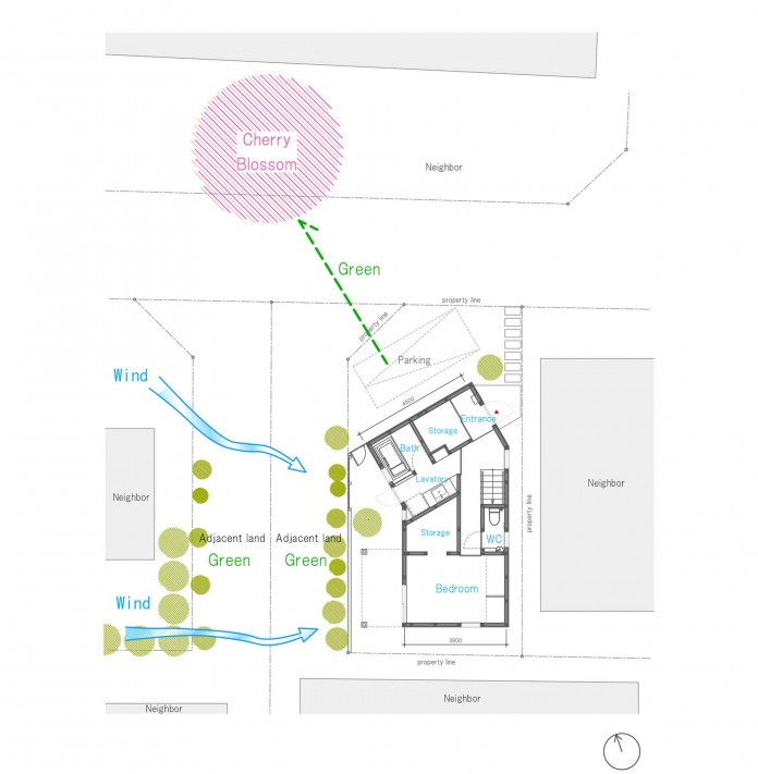 Small-House-with-Floating-Treehouse-by-Yuki-Miyamoto-Architect-14