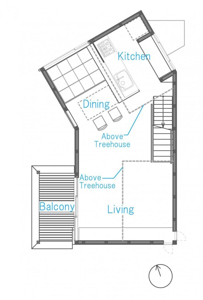 Small-House-with-Floating-Treehouse-by-Yuki-Miyamoto-Architect-15