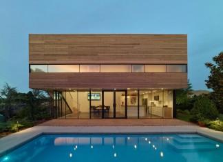 Srygley Pool House by Marlon Blackwell Architect