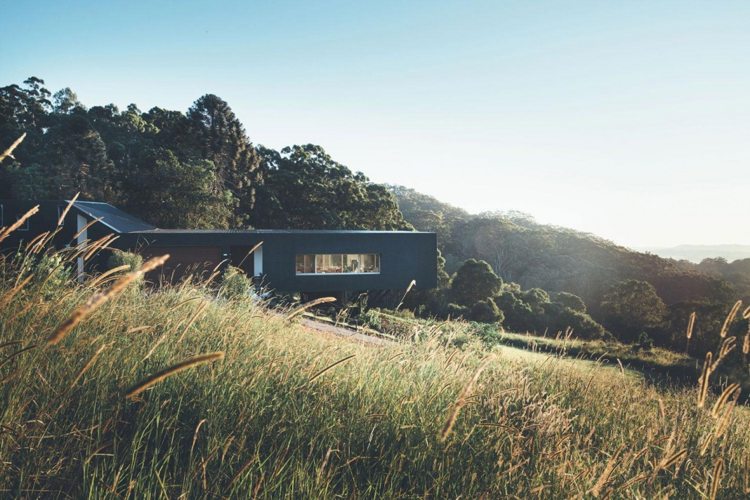 Stealth Eco-Friendly Home on the Sunshine Coast by Teeland Architects