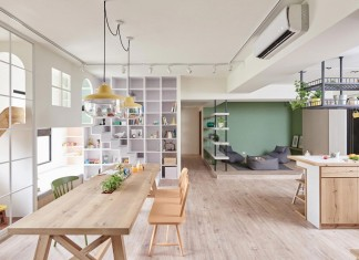 The Family Playground Apartment by HAO Design