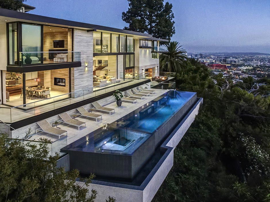 west hollywood dream home with stunning los angeles views