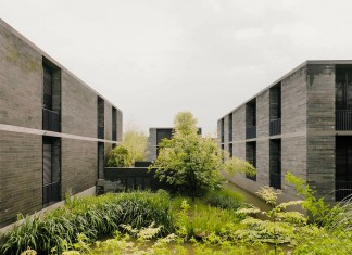 Xixi Wetland Apartment Buildings by David Chipperfield Architects