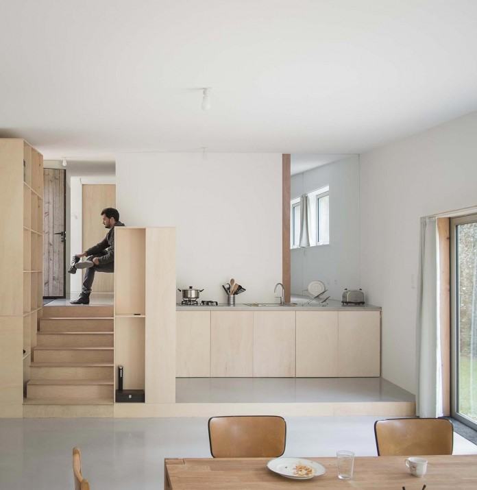 1 story small and simple wood JJ&S.M House by Atelier Mima ...