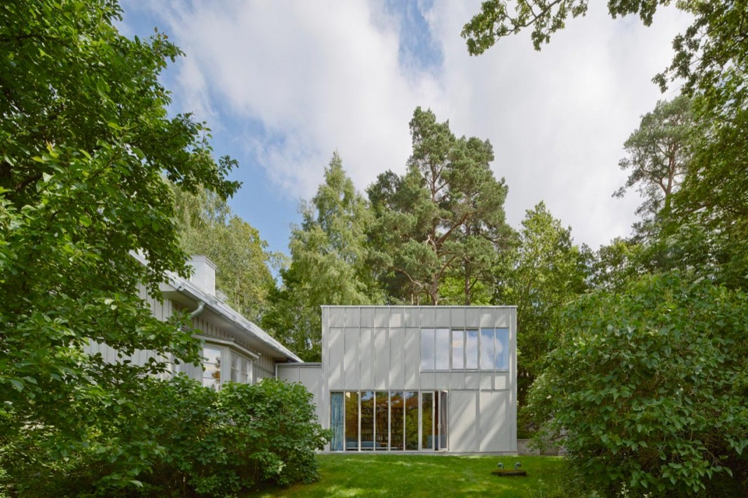 19th century remodelled Eder-Hederus Villa by Kod Arkitekter + General Architecture