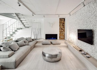 A Bright White Home in Kiev by FORM Architectural Bureau