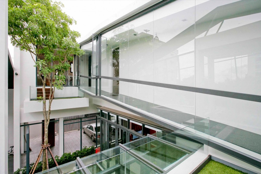 Chokchai 4 House by Archimontage Design Fields Sophisticated