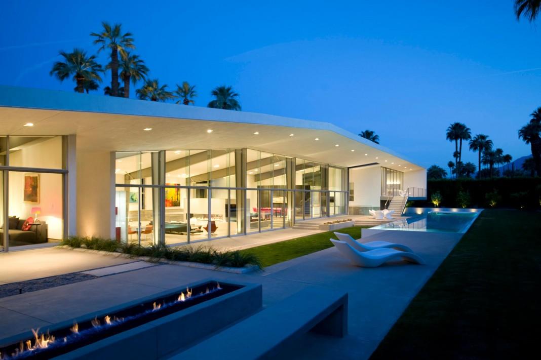 Desert Canopy House by Sander Architects