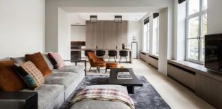 Elegant Project L Townhouse in Belgium by JUMA Architects