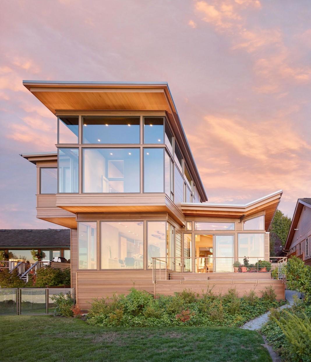 Elliot Bay House by FINNE Architects