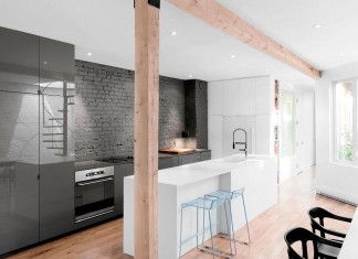 Espace Panet Triplex in Montreal by Anne Sophie Goneau