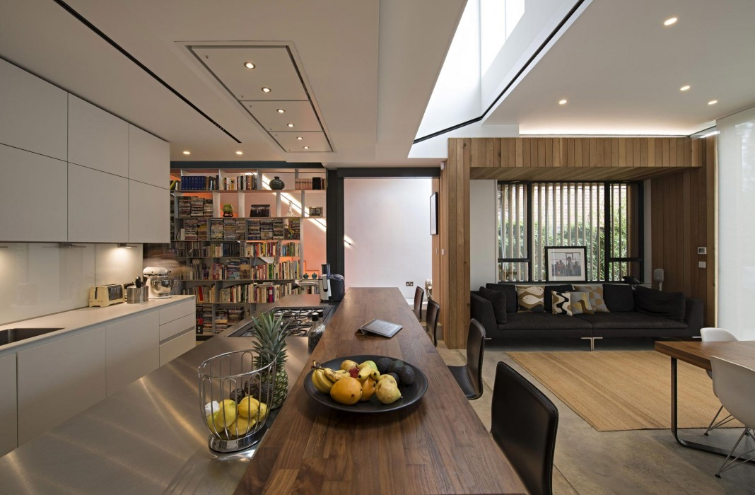 House of Books Residence in London by SHH Architects