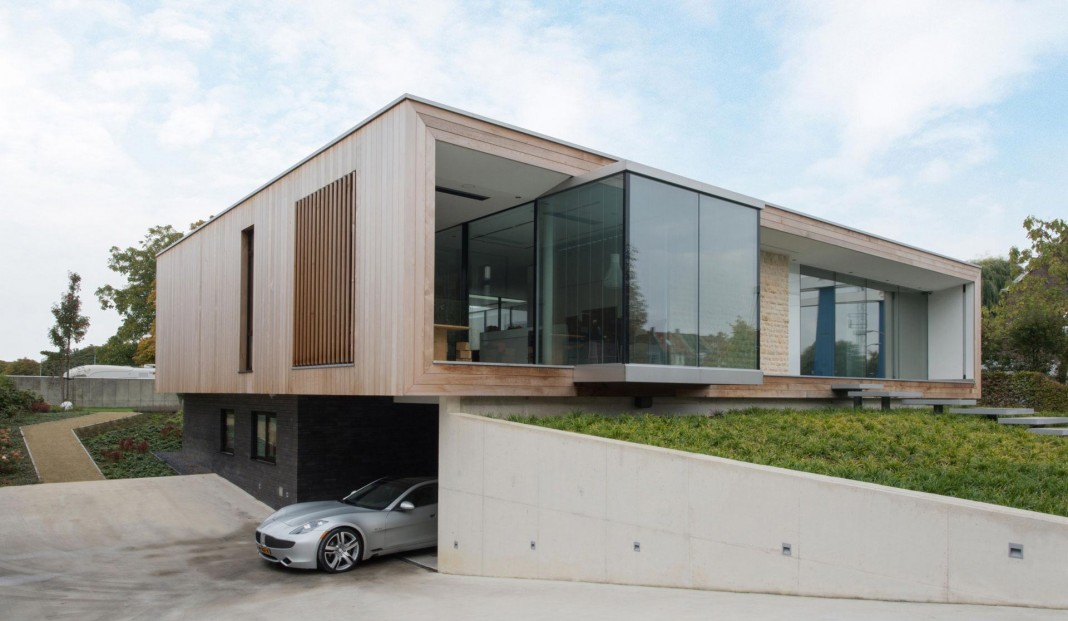 LIAG architects designed M House in The Hague