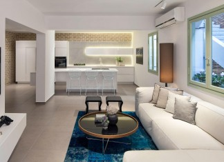 Modern Garden Apartment in Tel Aviv by BLV Design / Architecture