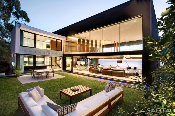 Nettleton 199 by SAOTA and OKHA Interiors. The top of the most beautiful modern houses ever built