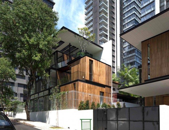 Paterson 3 Residence Comprises 2 Corner Terrace Units In