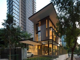 Paterson 3 Residence comprises 2 corner terrace units in Singapore by AR43 Architects
