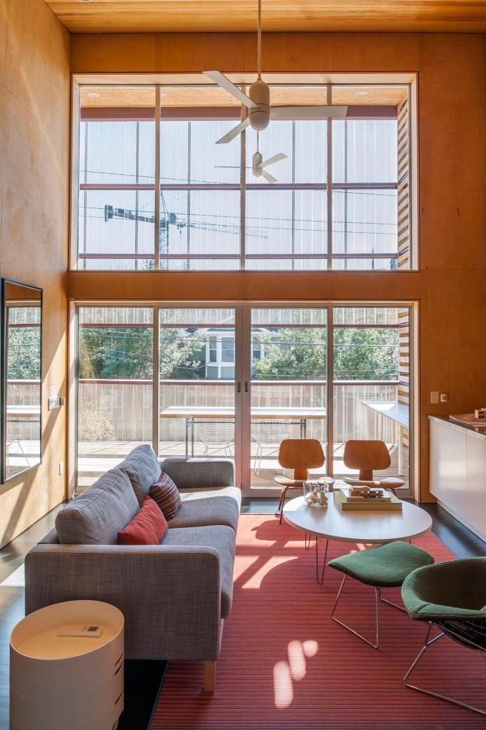 Shotgun Chameleon Home In Houston By Zdes Caandesign Architecture And Home Design Blog