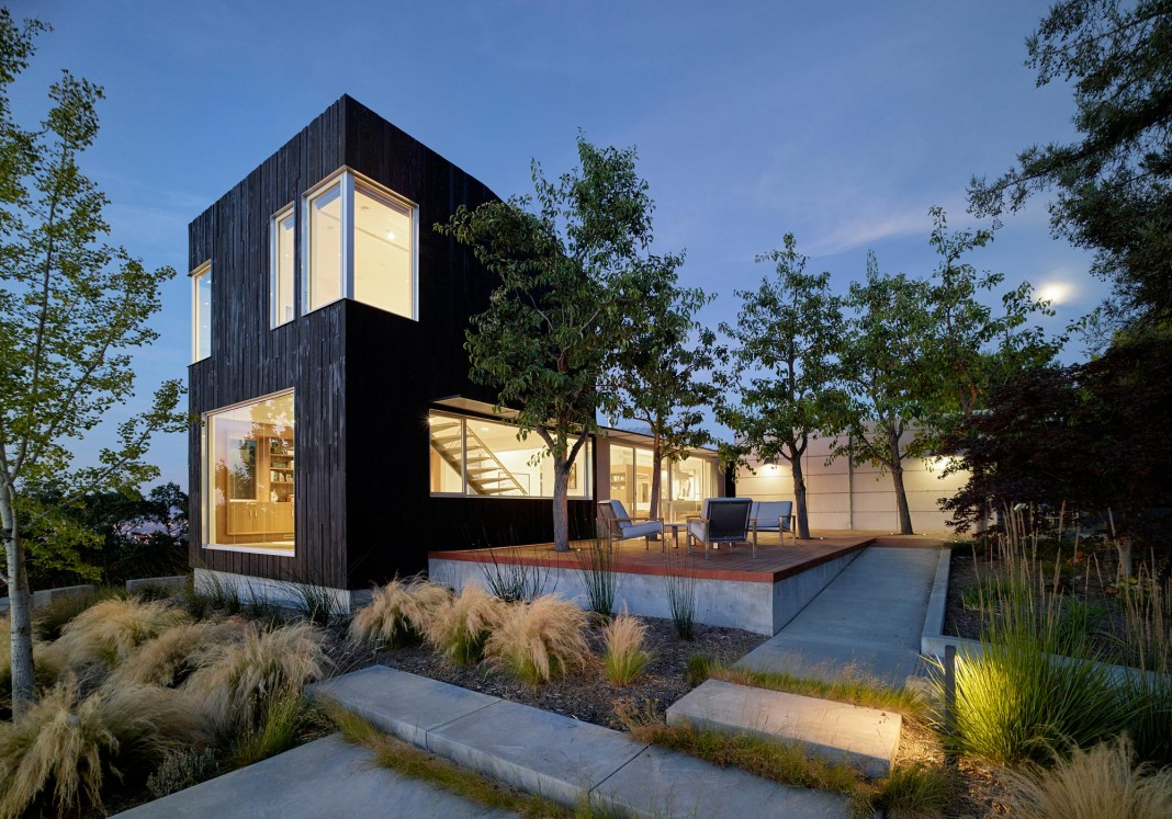 Show Sugi Ban House In Los Gatos By Schwartz And